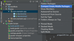 Compact Empty Middle Packages